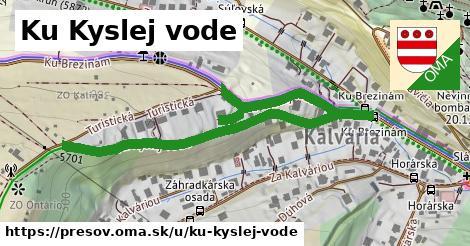 ilustračný obrázok k Ku Kyslej vode, Prešov