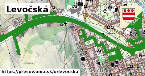 ilustrácia k Levočská, Prešov - 5,5km