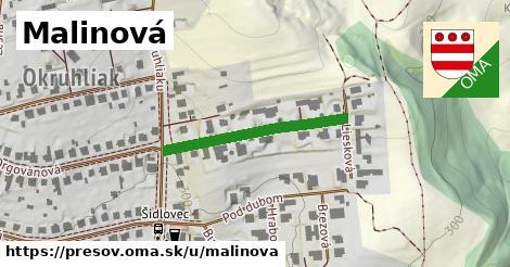 ilustrácia k Malinová, Prešov - 269m