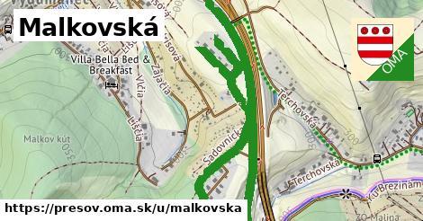 ilustračný obrázok k Malkovská, Prešov