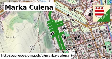ilustrácia k Marka Čulena, Prešov - 608m