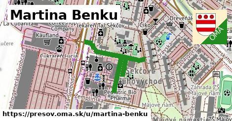 ilustračný obrázok k Martina Benku, Prešov