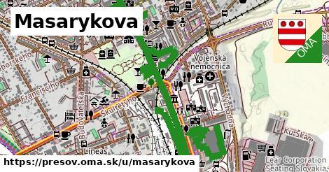 ilustrácia k Masarykova, Prešov - 1,00km