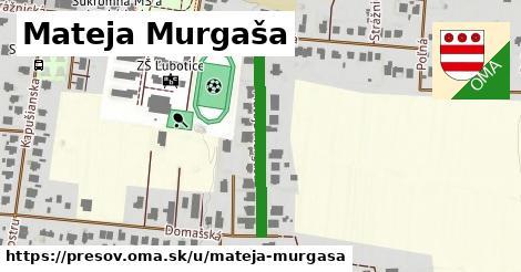 ilustračný obrázok k Mateja Murgaša, Prešov