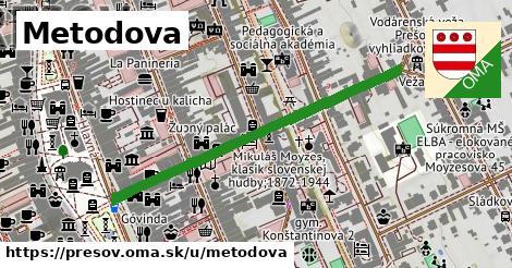 ilustrácia k Metodova, Prešov - 459m