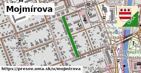 ilustračný obrázok k Mojmírova, Prešov