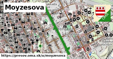 ilustrácia k Moyzesova, Prešov - 0,77km