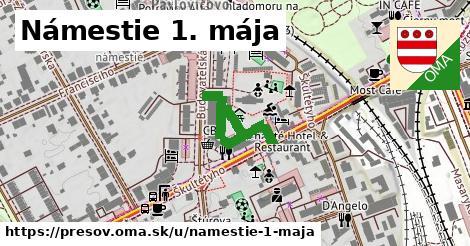 ilustrácia k Námestie 1. mája, Prešov - 145m