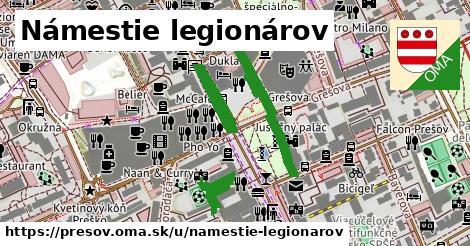 ilustračný obrázok k Námestie legionárov, Prešov