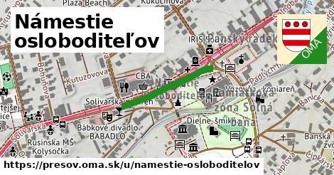 ilustračný obrázok k Námestie osloboditeľov, Prešov