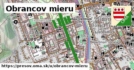 ilustrácia k Obrancov mieru, Prešov - 0,80km