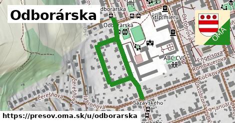 ilustrácia k Odborárska, Prešov - 541m