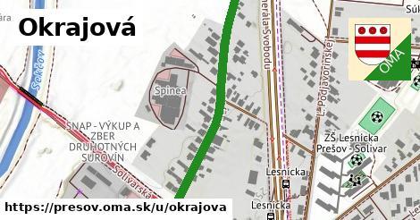 ilustrácia k Okrajová, Prešov - 398m