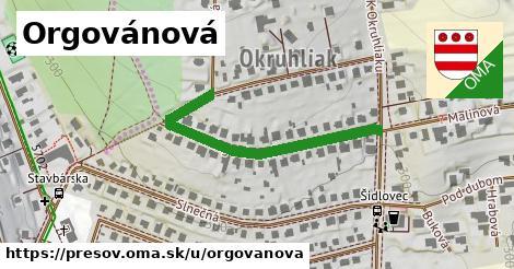 ilustračný obrázok k Orgovánová, Prešov