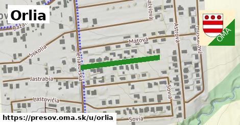 ilustrácia k Orlia, Prešov - 256m