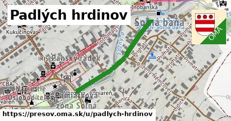 ilustračný obrázok k Padlých hrdinov, Prešov