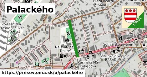 ilustrácia k Palackého, Prešov - 190m