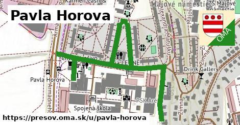 ilustrácia k Pavla Horova, Prešov - 640m