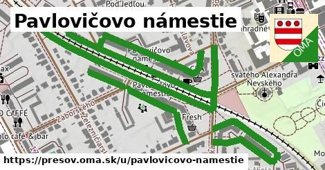 ilustračný obrázok k Pavlovičovo námestie, Prešov