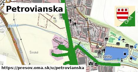ilustrácia k Petrovianska, Prešov - 3,6km