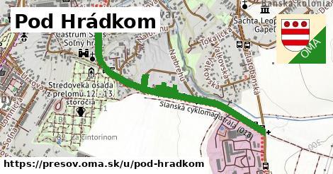 ilustrácia k Pod Hrádkom, Prešov - 1,01km