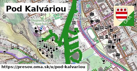 ilustrácia k Pod Kalváriou, Prešov - 3,3km