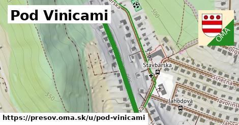ilustračný obrázok k Pod Vinicami, Prešov