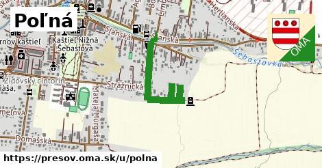 ilustračný obrázok k Poľná, Prešov