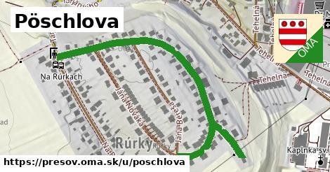 ilustračný obrázok k Pöschlova, Prešov