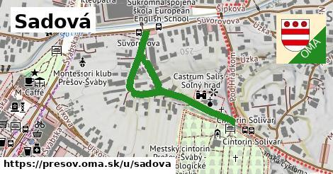 ilustrácia k Sadová, Prešov - 254m