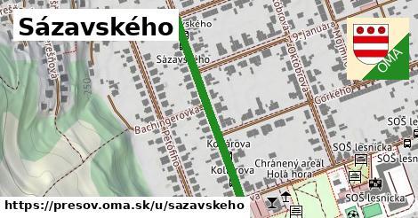 ilustračný obrázok k Sázavského, Prešov