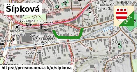 ilustrácia k Šípková, Prešov - 214m
