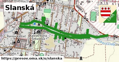 ilustrácia k Slanská, Prešov - 2,0km