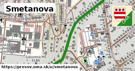 ilustrácia k Smetanova, Prešov - 1,01km