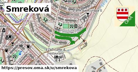 ilustračný obrázok k Smreková, Prešov