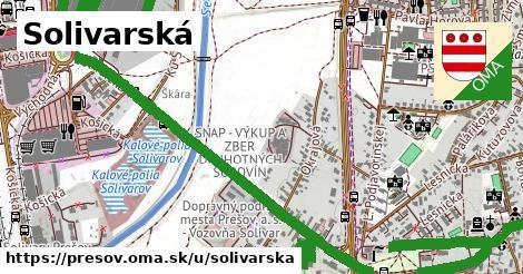 ilustračný obrázok k Solivarská, Prešov