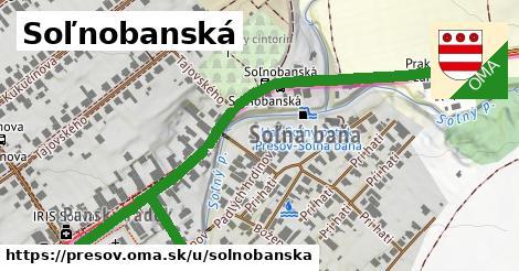 ilustračný obrázok k Soľnobanská, Prešov