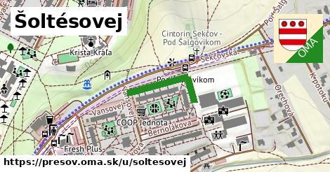 ilustrácia k Šoltésovej, Prešov - 199m
