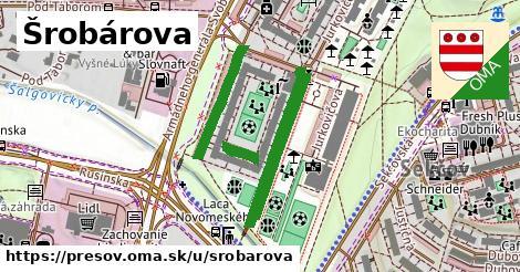 ilustrácia k Šrobárova, Prešov - 624m