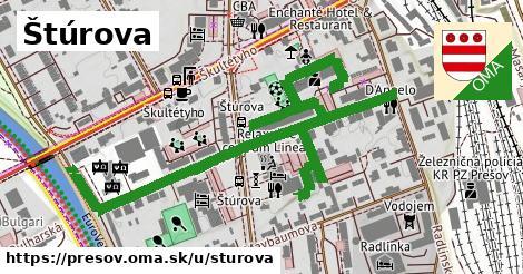 ilustrácia k Štúrova, Prešov - 452m