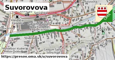 ilustrácia k Suvorovova, Prešov - 628m