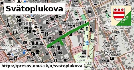 ilustrácia k Svätoplukova, Prešov - 267m