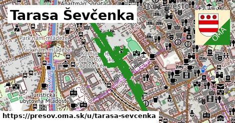 ilustračný obrázok k Tarasa Ševčenka, Prešov