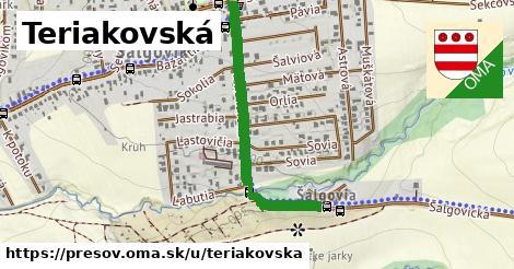 ilustrácia k Teriakovská, Prešov - 534m