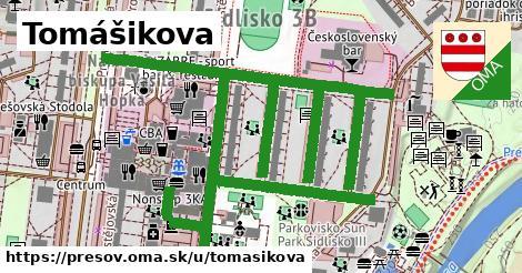 ilustrácia k Tomášikova, Prešov - 1,11km