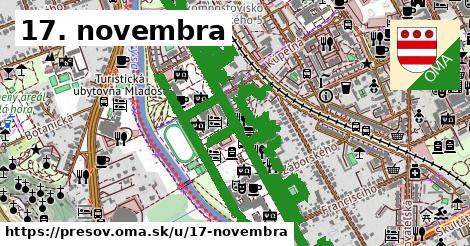 ilustrácia k 17. novembra, Prešov - 2,9km