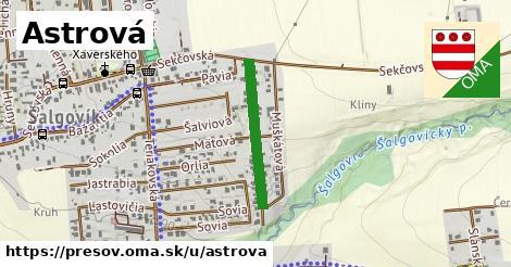 ilustrácia k Astrová, Prešov - 304m