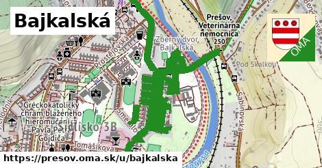 ilustrácia k Bajkalská, Prešov - 1,98km