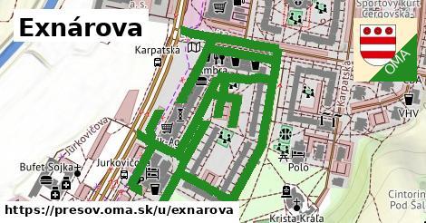 ilustrácia k Exnárova, Prešov - 1,06km
