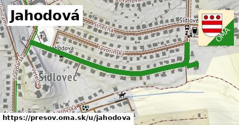 ilustrácia k Jahodová, Prešov - 564m